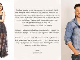 Jasmin Bhasin Urges Her Fans To Make Aly Goni The Winner Of Bigg Boss 14