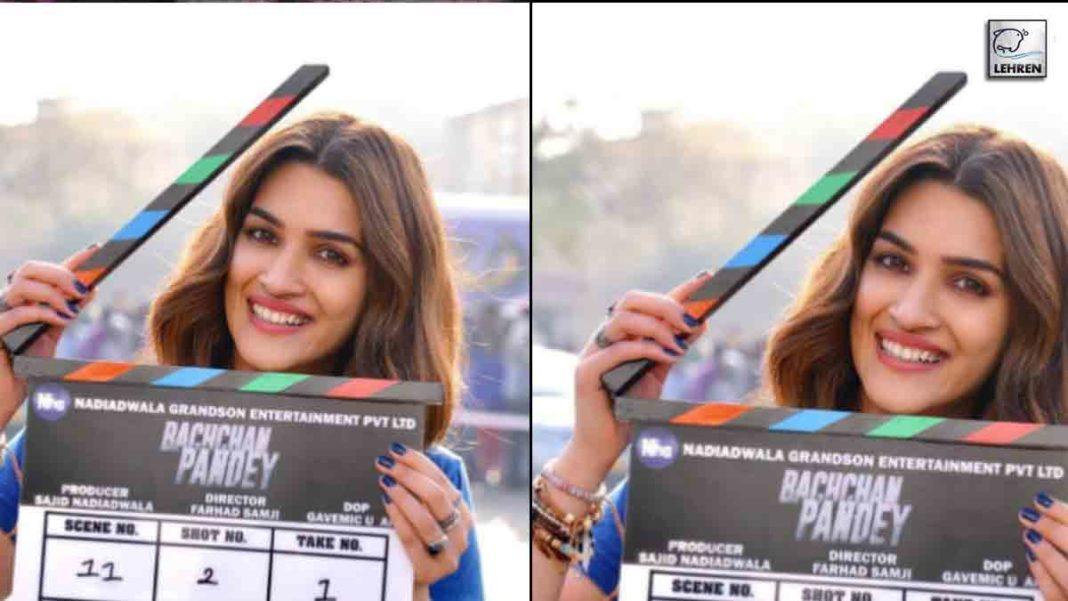 Kriti Commences Bachchan Pandey