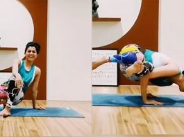 Maadhavi Nemkar Astonishes Her Fans With Her Yoga Sessions