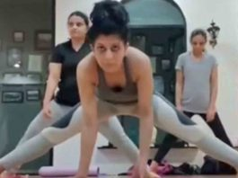 Maadhavi Nemkar Gives Us A Glimpse Of Her Gym Workout Session