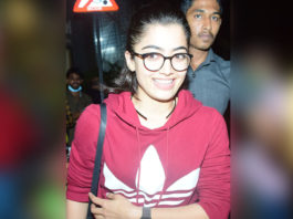 Rashmika Mandanna clicked at Juhu