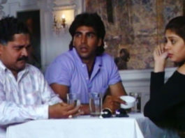 Throwback Video From The Sets Of Suhaag (1994)