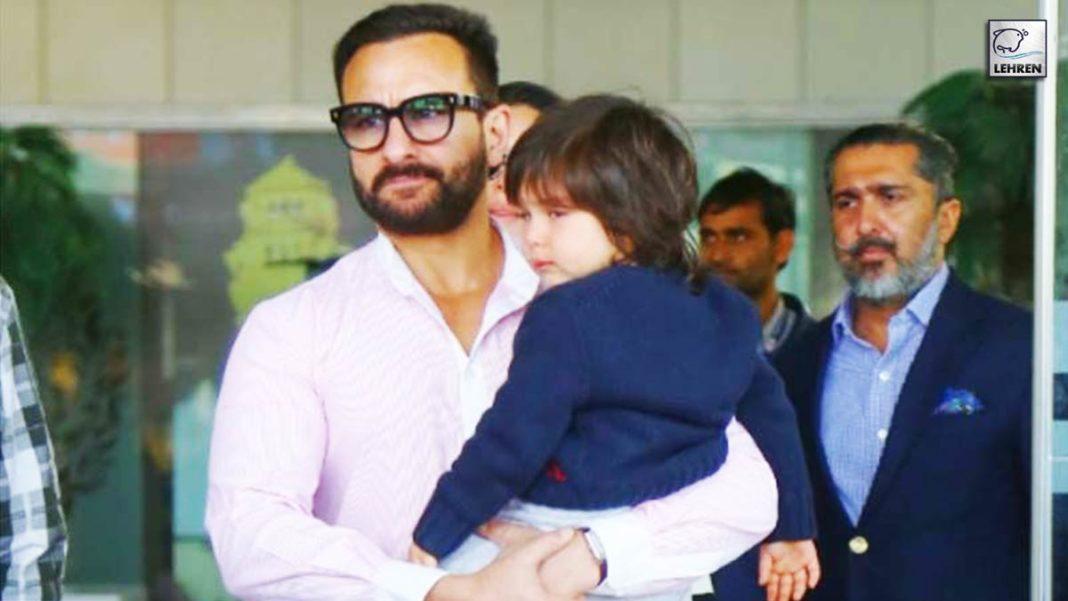 Saif On Paternity Leave