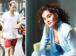 Here's What Taapsee Pannu's Boyfriend Did After IT Raid At Her Home