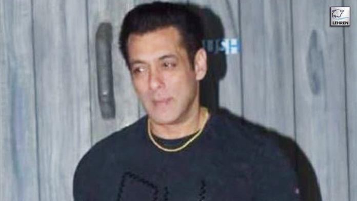 Salman Received COVID Vaccine