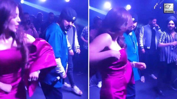 Urvashi's Striptease Video Goes Viral