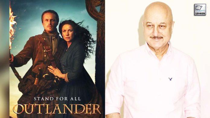 Anupam Thanks Outlander Stars