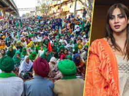 Arshi Khan Shows Concern Towards Protesting Farmer Amid Rising Cases Of COVID