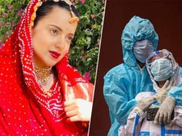 Kangana Ranaut Says Earth Is Healing As People Suffer From Covid