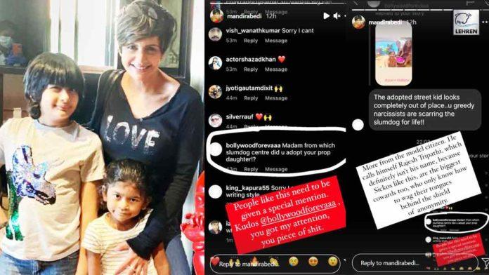 Mandira Bedi Slams Troll