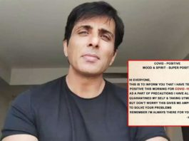 Messiah Of Migrants Sonu Sood Tests Positive For COVID 19