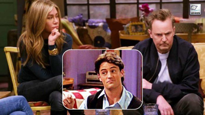 Chandler Bing Matthew Perry Friends Reunion