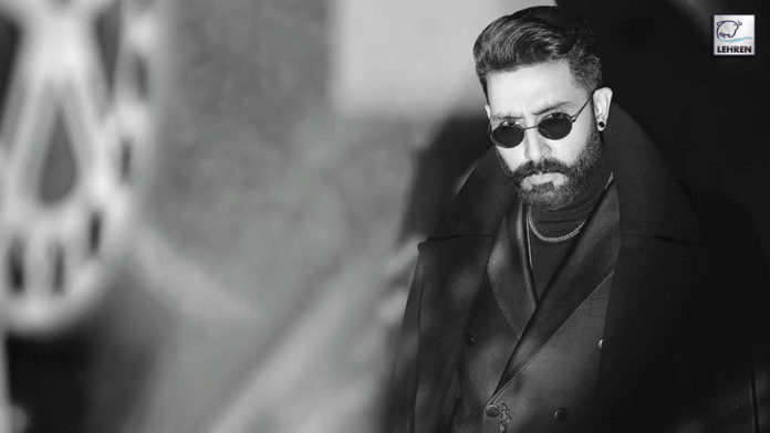 Abhishek Bachchan slays like a boss in this monochromatic picture!