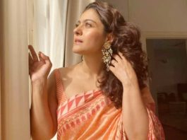 Kajol shares a beautiful picture from her beloved 'Saree Series'
