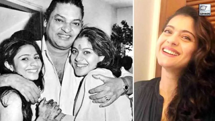 Kajol wishes the dads in her life a Happy Father's Day!