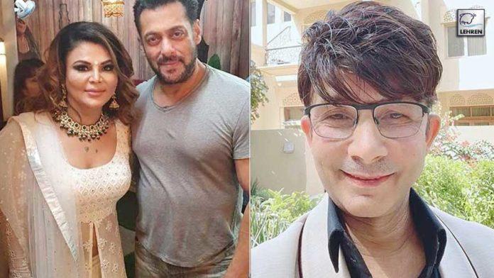 Rakhi Supporting Salman