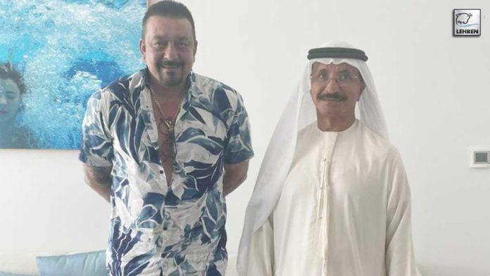 Sanjay Dutt Meets Sultan Ahmed Bin Sulayem!