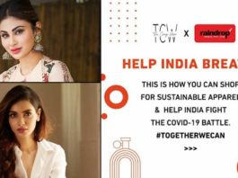 The Cause Wear & amp; Raindrop Media Come Together For The 'Help India Breathe' Mission!
