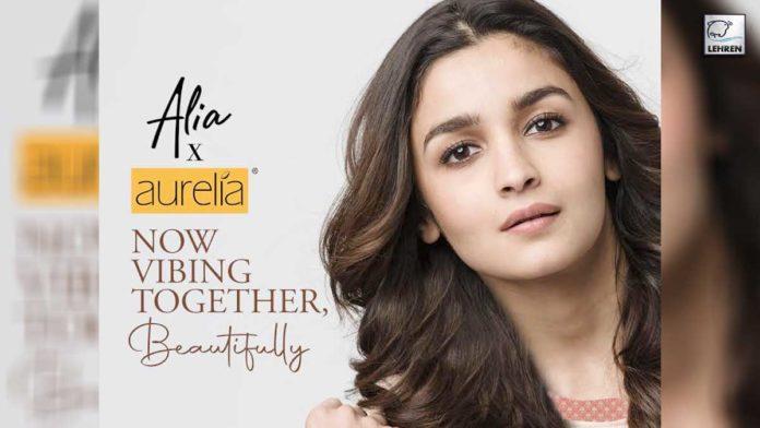 Aurelia ropes in Alia Bhatt as its new brand ambassador