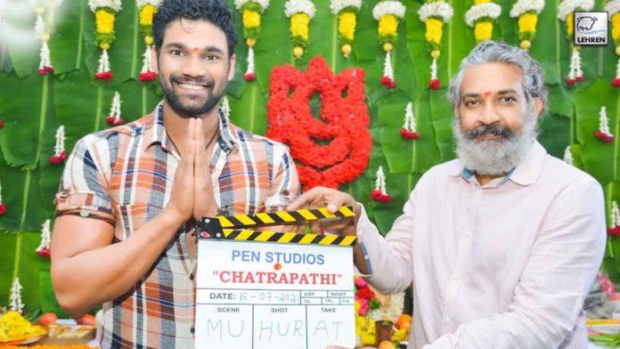Blockbuster Director Rajamouli gives Muhurtham Clap For Bollywood Debutant Bellamkonda Sai Sreenivas much-awaited action entertainer