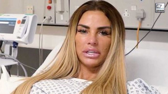 Katie Price faces near-death experience..