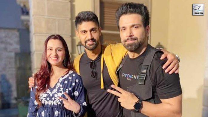 Rithvik Dhanjani & Tanuj Virwani Wrap ALTBalaji Upcoming Drama Cartel!