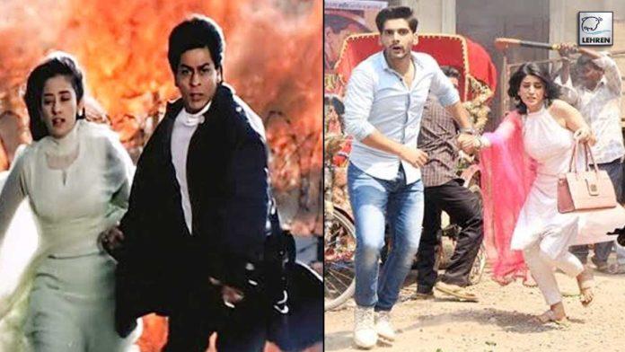 Re-Creating SRK And Manisha Starrer Movie Dil Ses' Iconic Scene In Lakshmi Ghar Aayi!