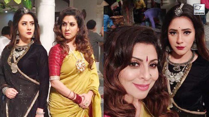 Tannaz Irani In Binafierr Kohli's Show Jijaji Chatt Parr Koii Hai!