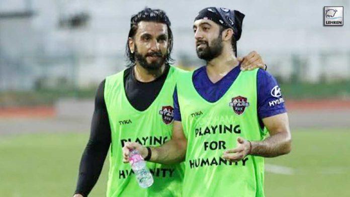 Armaan Ralhan's Buddy Talk With His Befikre Co-Star Ranveer Singh Over Football
