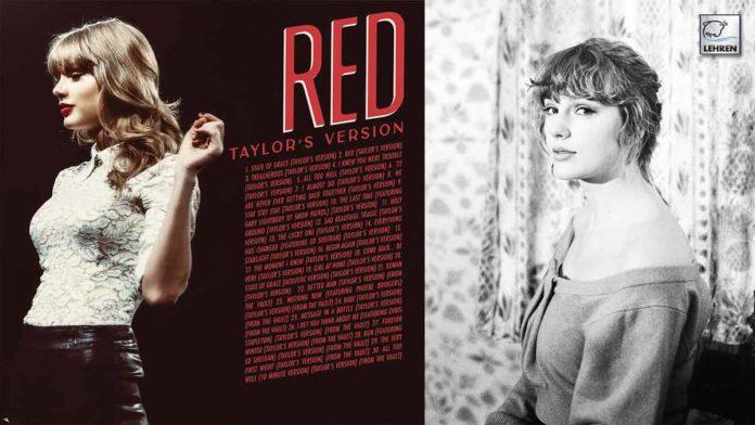 Taylor Album Red Tracklist