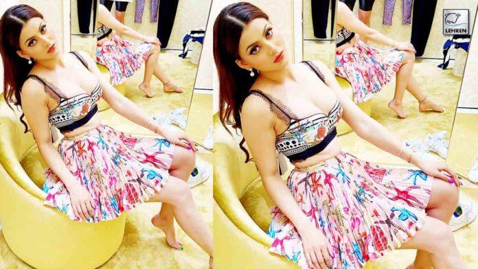 Urvashi Flaunts Versace