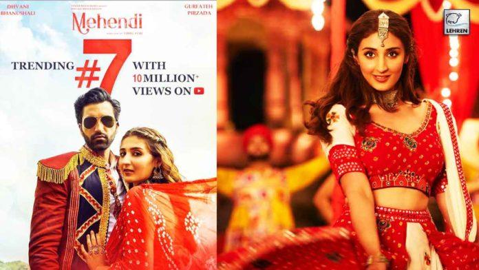 Dhvani Bhanushali New Song, Mehendi Is Trending On YouTube