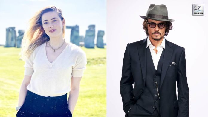 Johnny Depp Gets Interrupted By Amber Heard's Voice