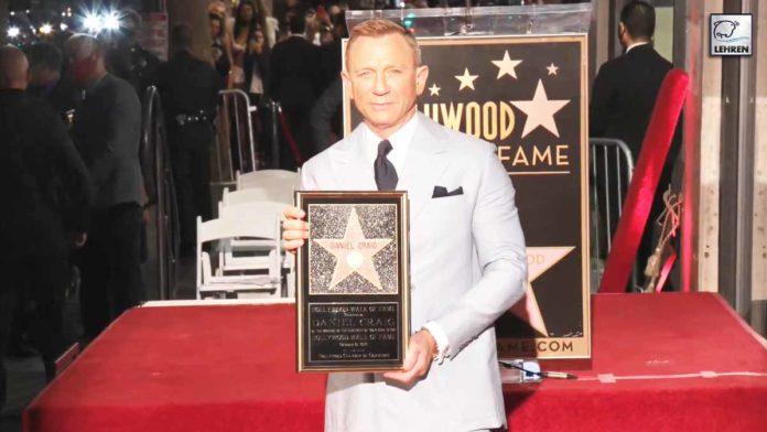 James Bond Actor Receives 'Star' On Hollywood Walk Of Fame